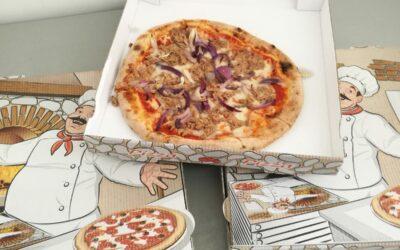 Pizza-Spende von der Pizzeria St.Benno