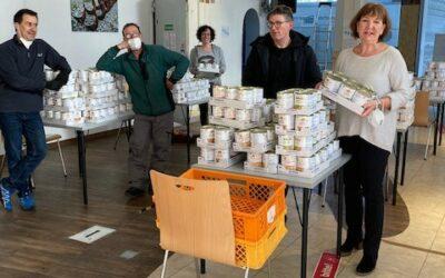 Großzügige Spende ENR social projects